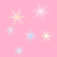 キラキラ光る星