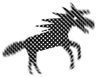 馬の無料イラスト : 用 四字熟語 : すべての講義