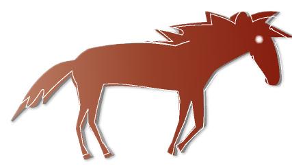 馬の無料イラスト