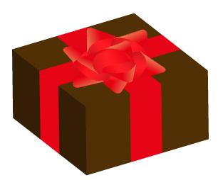チョコの贈り物