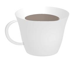 カフェ薄め