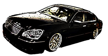 高級車ブラック