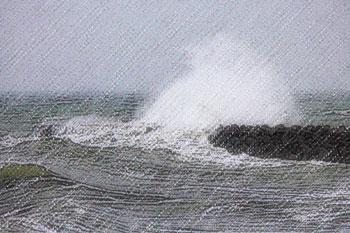 台風 台風  台風の無料イラスト