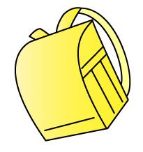 黄色のランドセル