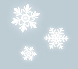 雪の結晶の背景素材