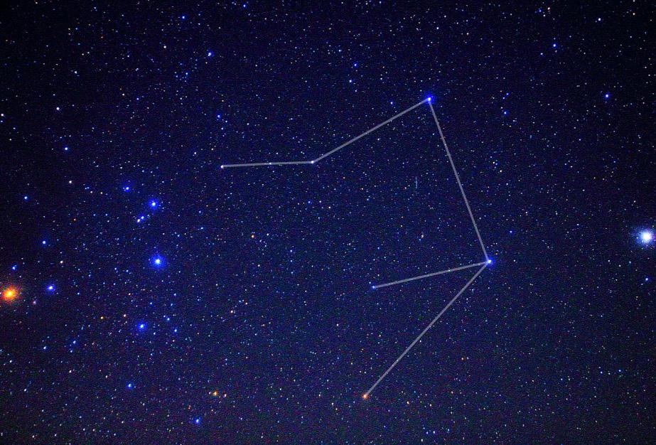天秤座(星図線あり)