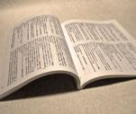見開き本の写真