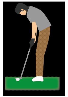 大きいサイズのゴルフ2