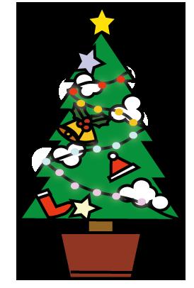 大きいサイズのクリスマスツリー