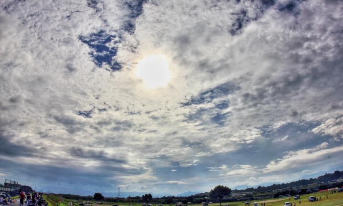 大きいサイズの曇り空