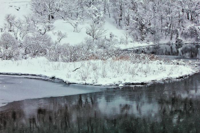 大きいサイズの雪と氷