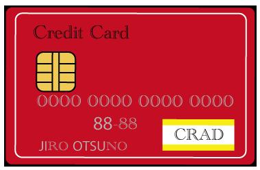 大きいサイズのクレジットカード