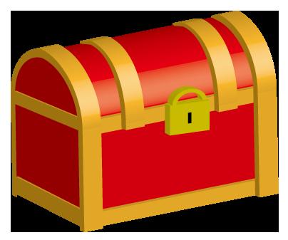 財宝が詰まっている箱