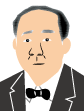 渋沢栄一(黒髪)アイコン
