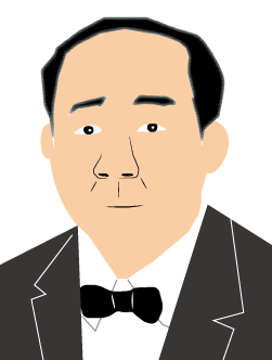 渋沢栄一(黒髪)
