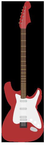大きいサイズのエレキギター