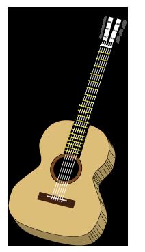 クラシックギター(3D)