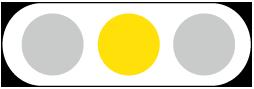 信号機・黄・大サイズ