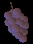 紫グラデーション
