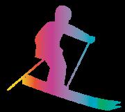 虹色スキー