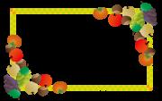 果実のフレーム