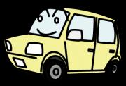 安全運転を心がける軽自動車