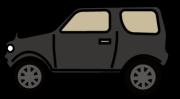 黒のRV車横向き