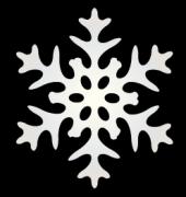 シンプルな雪の結晶
