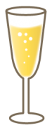 シャンパングラス