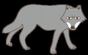 狼(全身)