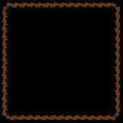 馬の枠素材(正方形)