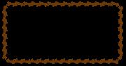 午のフレーム素材(長方形)