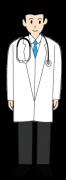 医師の全身