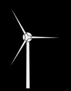 シンプルな風力発電