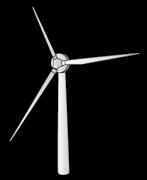 立体的な風車
