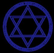 六芒星の魔法陣
