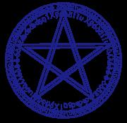 五芒星の魔法陣