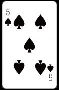 スペードの「5」:トランプ
