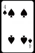 スペードの「4」:トランプ