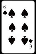 スペードの「6」:トランプ