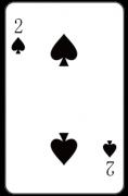 スペードの「2」:トランプ