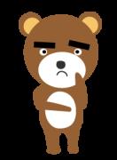 困ったクマ