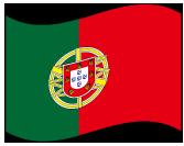 ポルトガルの波打つ国旗