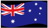 オーストラリアの波打つ国旗