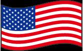アメリカ合衆国の波打つ国旗