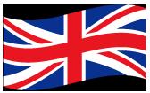 イギリスの波打つ国旗
